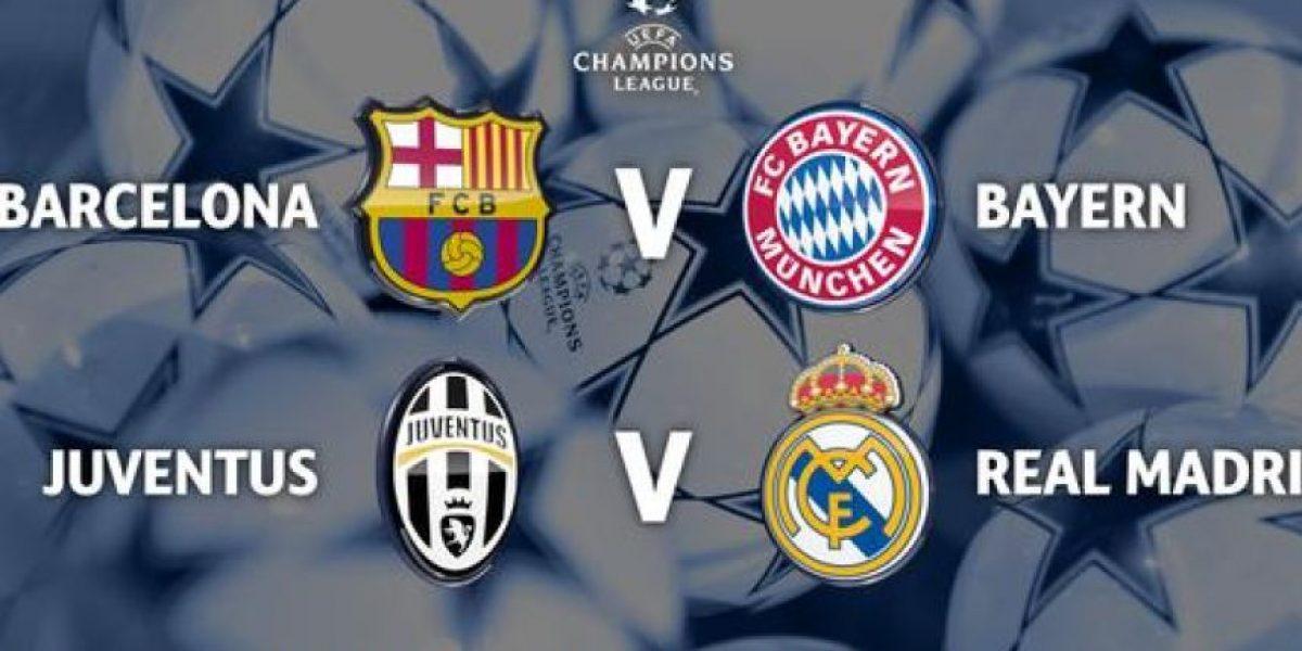 Así quedaron definidas las llaves de la semifinal de la Champions League