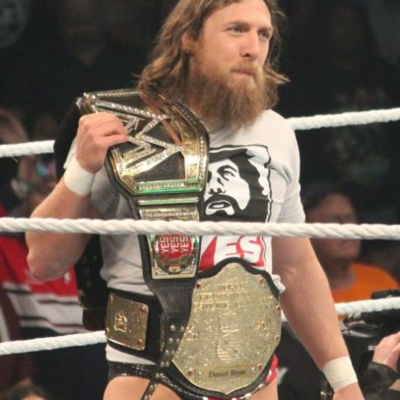 Daniel Bryan vs. Bad News Barrett Foto: Wikimedia