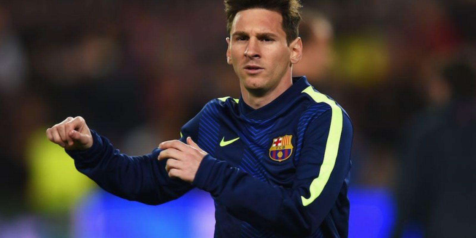 Según la fiscalía, el delantero y su padre, Jorge Messi, eludiaron el pago de impuestos por la explotación comercial de los derechos de imagen del delantero. Foto:Getty Images