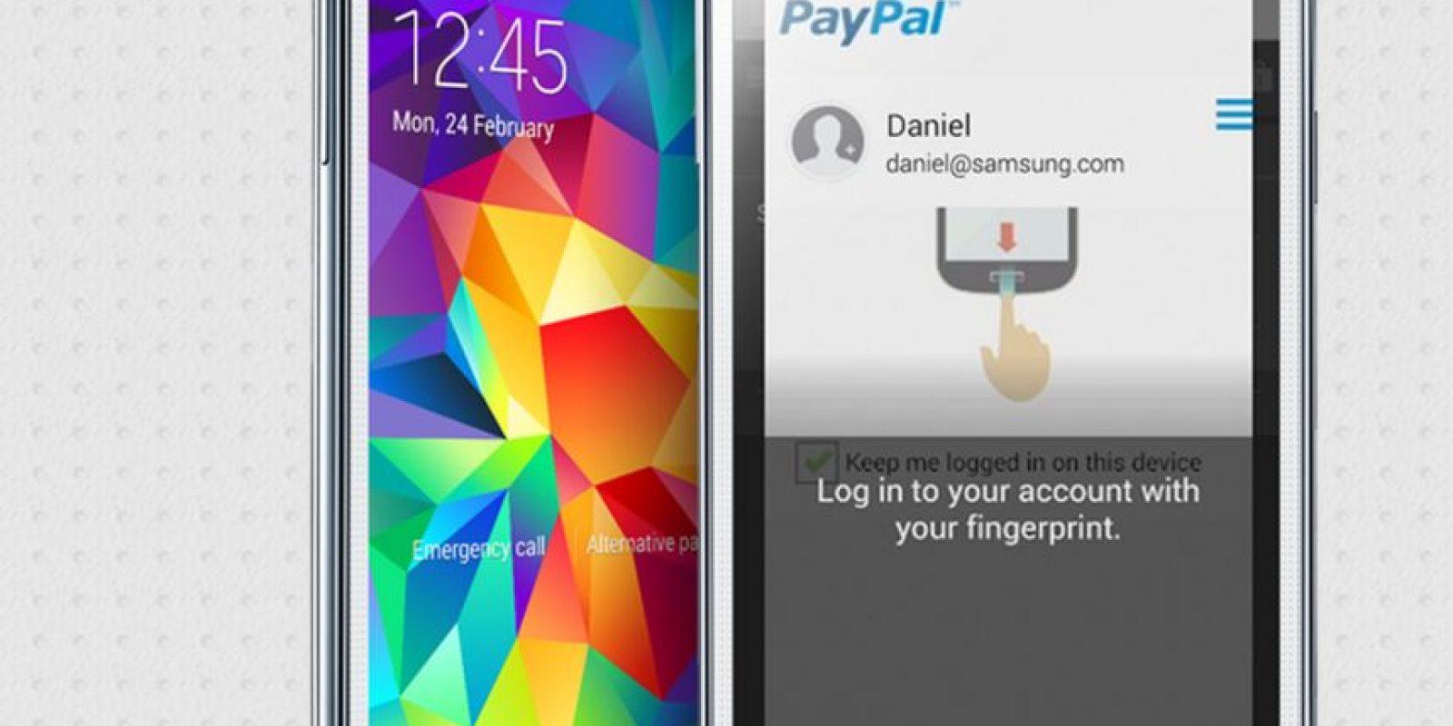 La biometría o uso de la huella digital cada vez se hace más común. Los sitios de compra en línea, poco a poco, lo adaptan como modo de compra Foto:Samsung