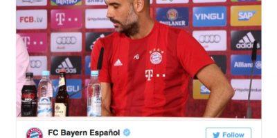 Esta fue la reacción del Bayern Munich. Foto:Vía Twitter.com/FCBayernES