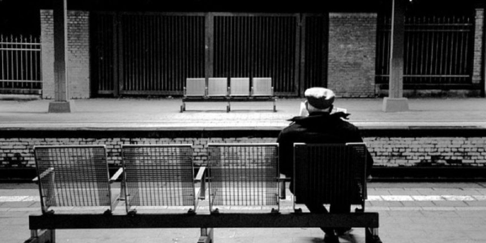 Su nombre es David Parton y tiene 76 años. Foto:Tumblr.com/Tagged-anciano