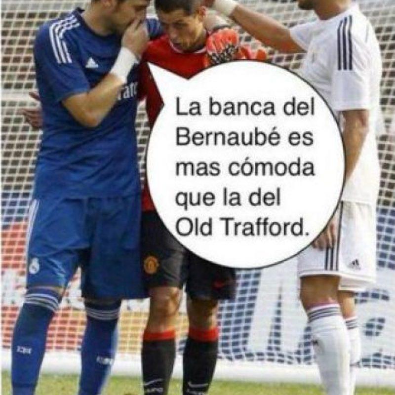 De esta manera los jugadores del Real Madrid convencieron al mexicano de ir al Berbanéu. Foto:Vía Twitter