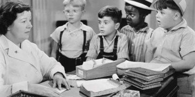 """Billy Laughlin (el niño de lentes). Conocido por interpretar el personaje """"Froggy"""" en """"Nuestro Gang"""" Foto:Vía imdb.com"""