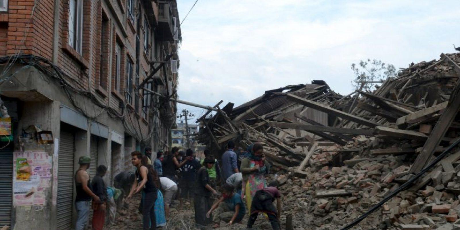 l temblor ocurrió a las 11:41 de la mañana (hora local). Foto:vía AP