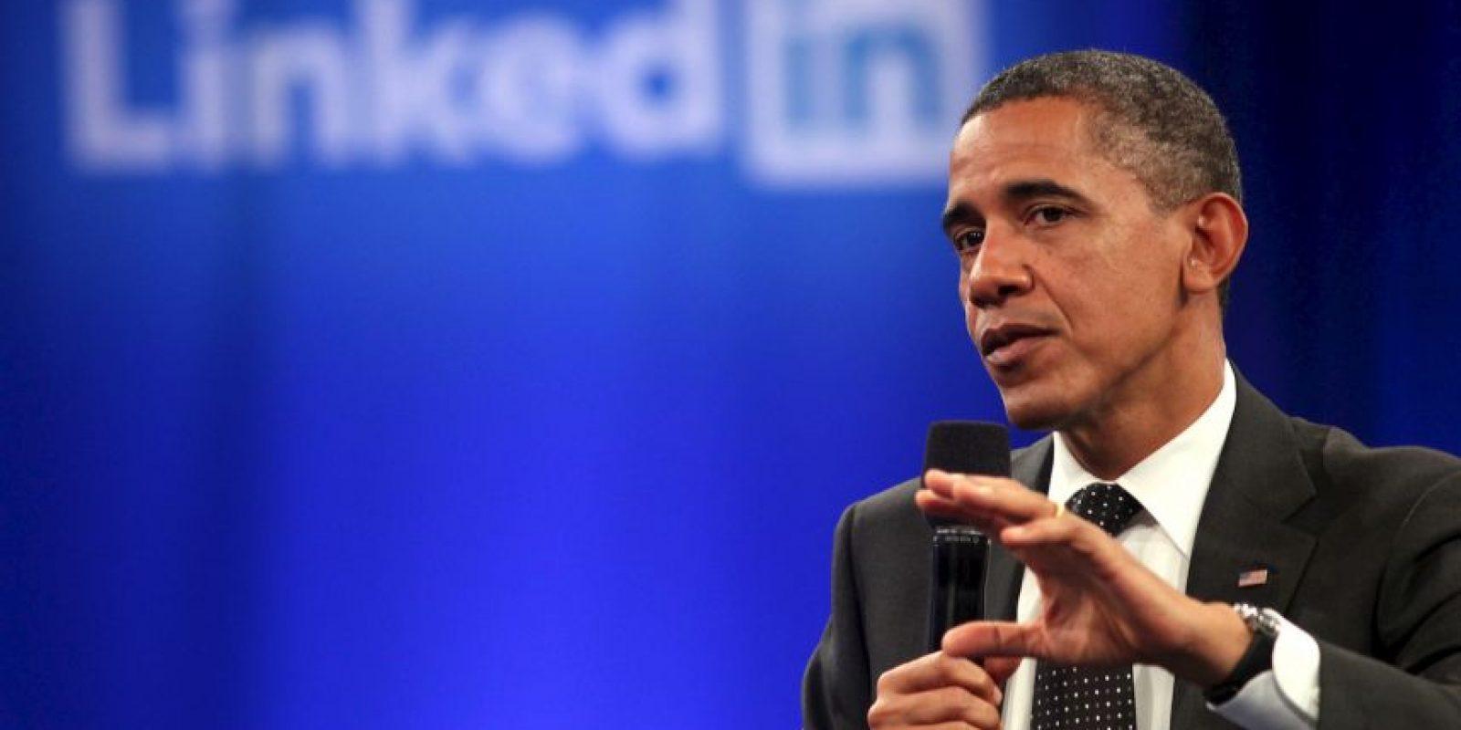 El presidente de los Estados Unidos de América Barack Obama tiene cuenta en la red social. Foto:Getty Images