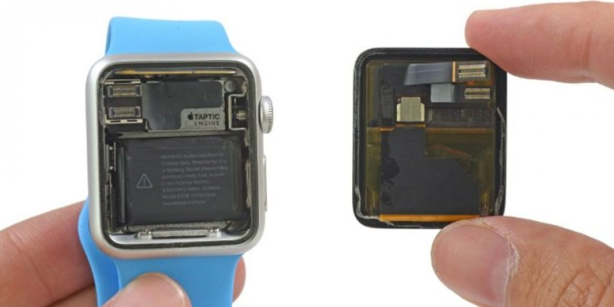 FOTOS: El interior del Apple Watch trae piezas no intercambiables