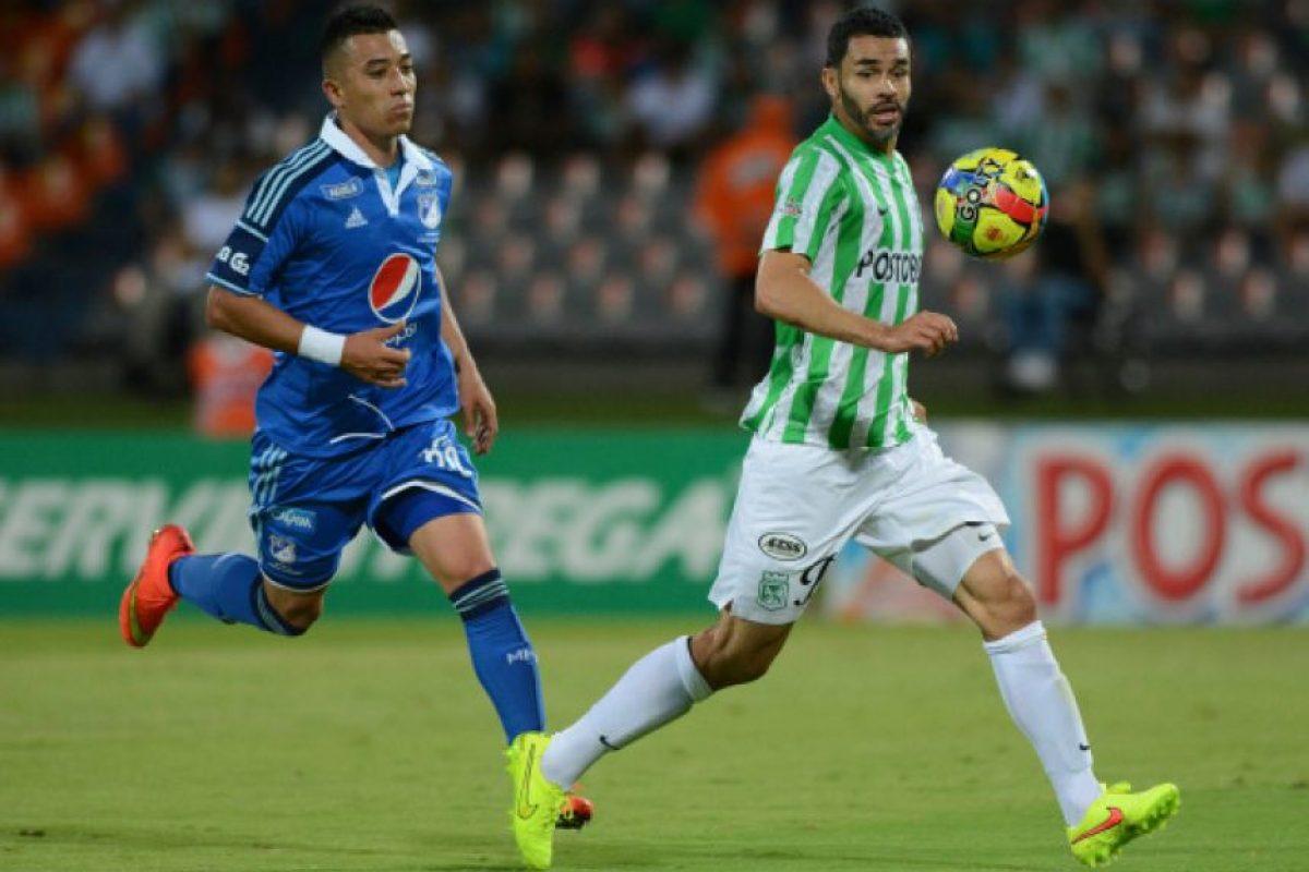 Central: Francisco Nájera (Atlético Nacional/Colombia) Foto:Getty Images