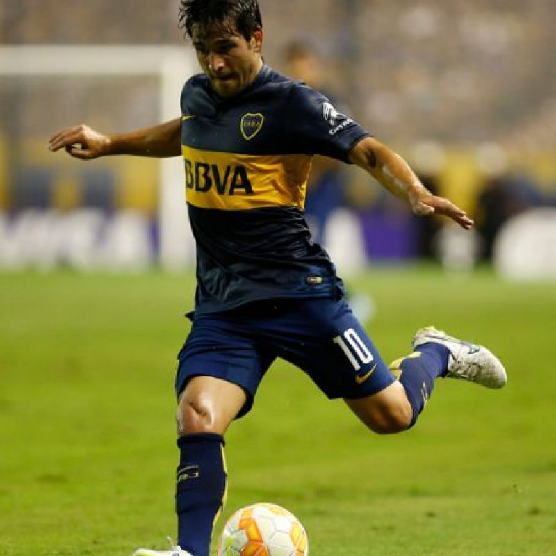 Medio: Nicolás Lodeiro (Boca Juniors/Argentina) Foto:Getty Images