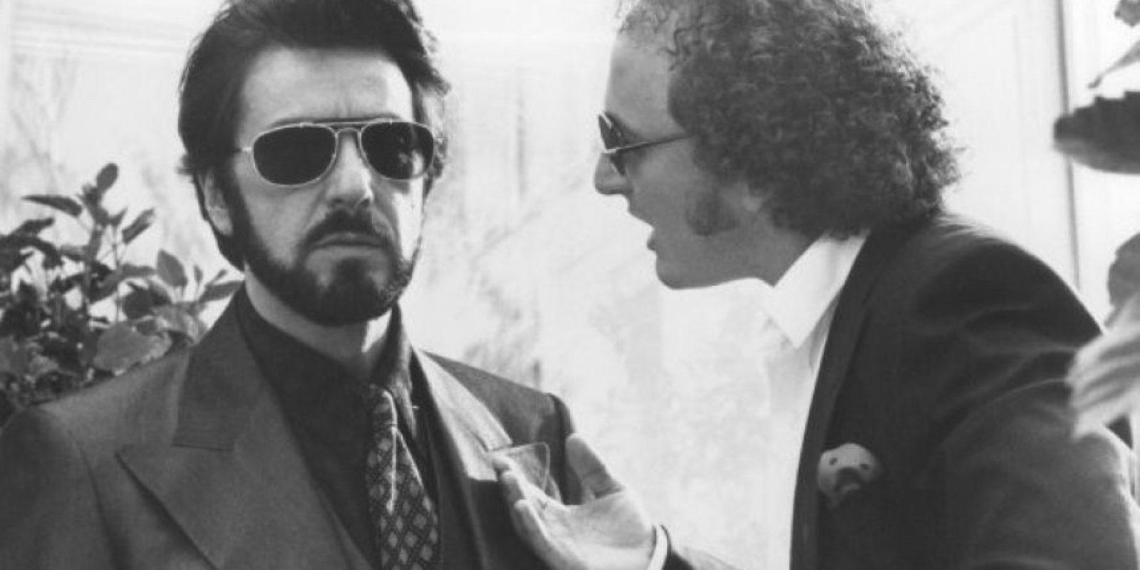 """Interpretó a """"Carlito Brigante"""", un narcotraficante puertorriqueño que tras salir de prisión decide reformarse y alejarse de los negocios ilegales que aún lo persiguen. Foto:Universal Pictures"""