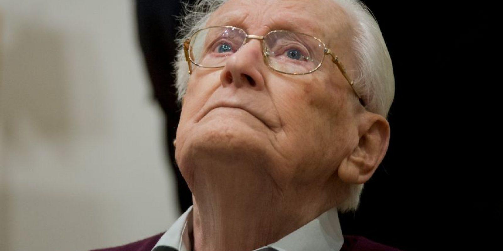 """El primer día del juicio, Oscar Groëning admitió su """"culpabilidad moral"""". Foto:AP"""
