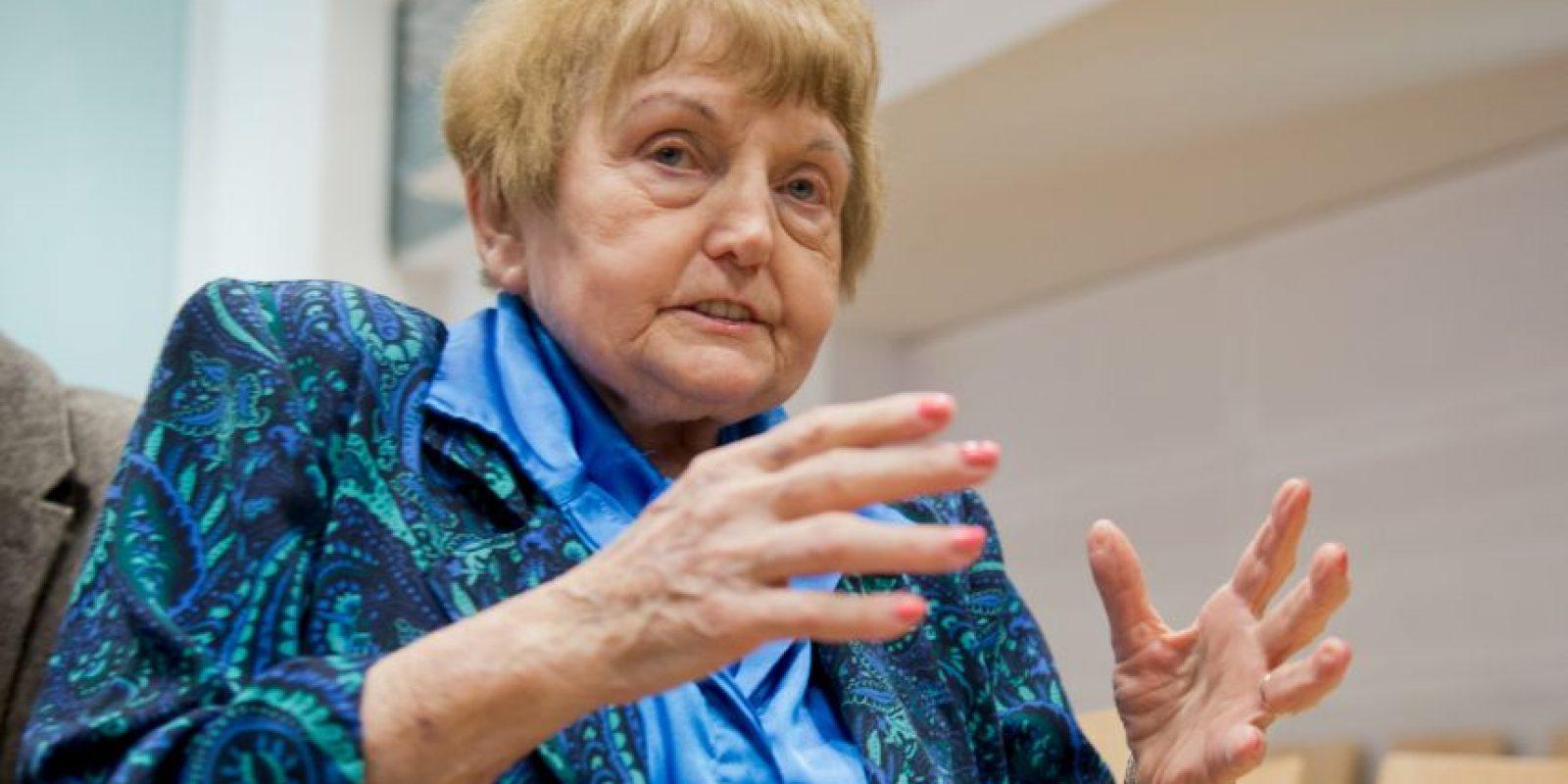 Eva Mozes Kor llegó a Auschwitz en 1944. Foto:AP