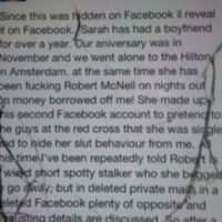 Él hackeó el Facebook y contó todo. Foto:vía Twitter