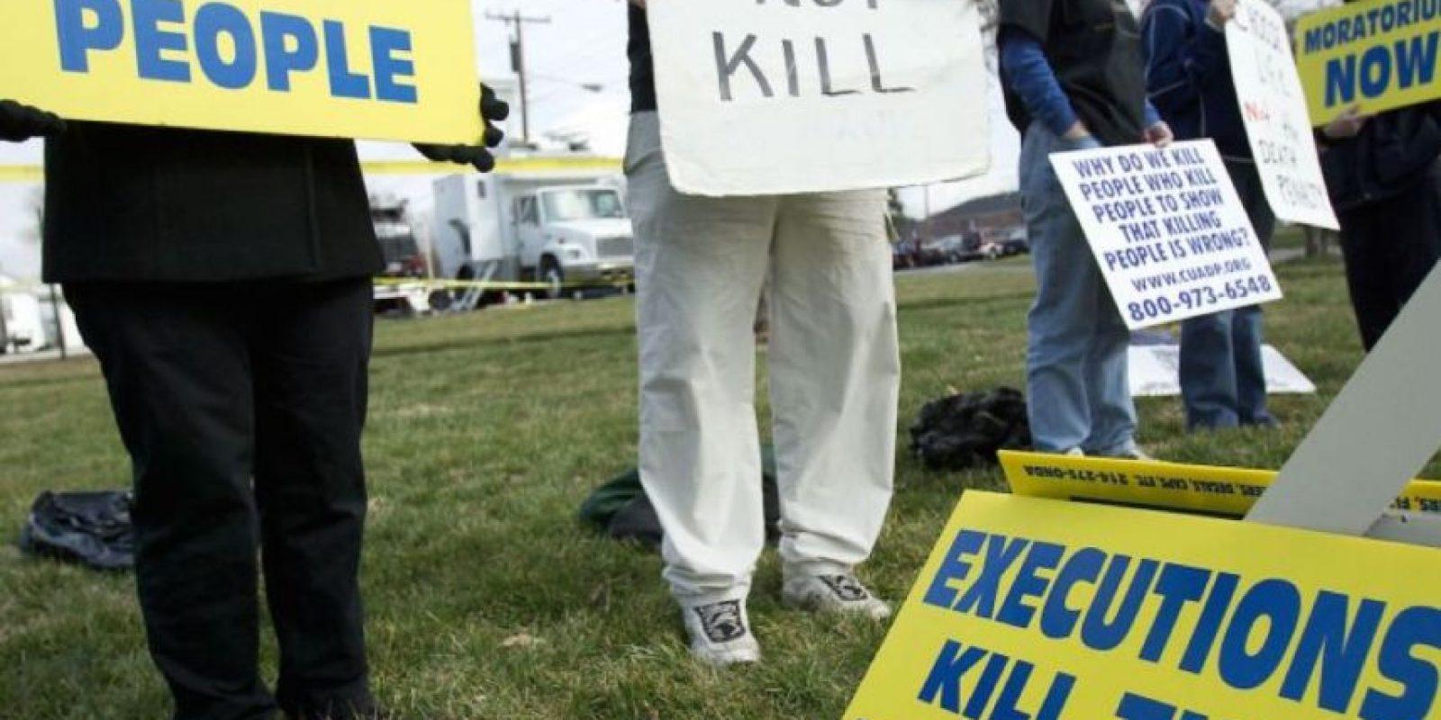 6. En América, Estados Unidos es el único país que lleva a cabo ejecuciones, pero estas bajaron de 39 en 2013 a 35 en 2014. Foto:vía Getty Images