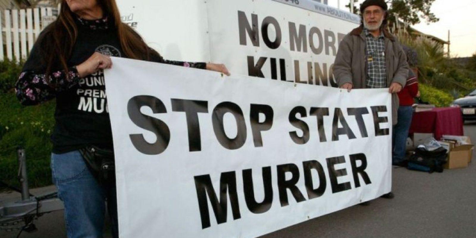 8. Tres países −Arabia Saudí, Irak e Irán− fueron responsables del 72 por ciento de las 607 ejecuciones registradas. Foto:vía Getty Images