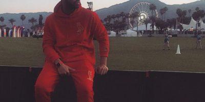 Drake, cantante de pop, posó el modelo y como fondo el festival Coachella. Foto:instagram.com/champagnepapi/