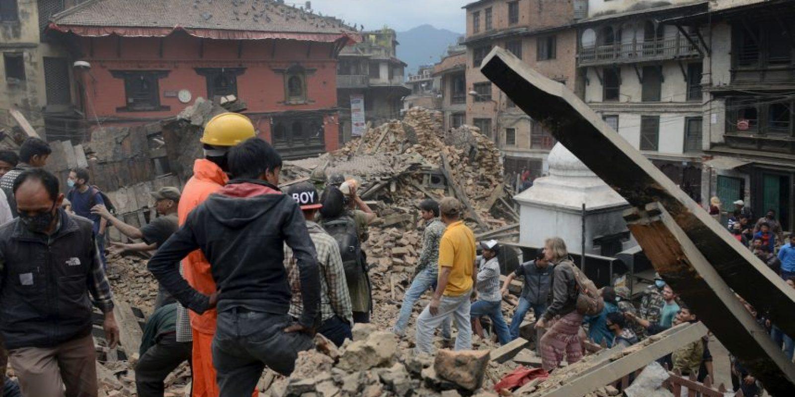 Asimismo, tres misioneros puertorriqueños también salieron ilesos del terremoto. Foto:vía AP