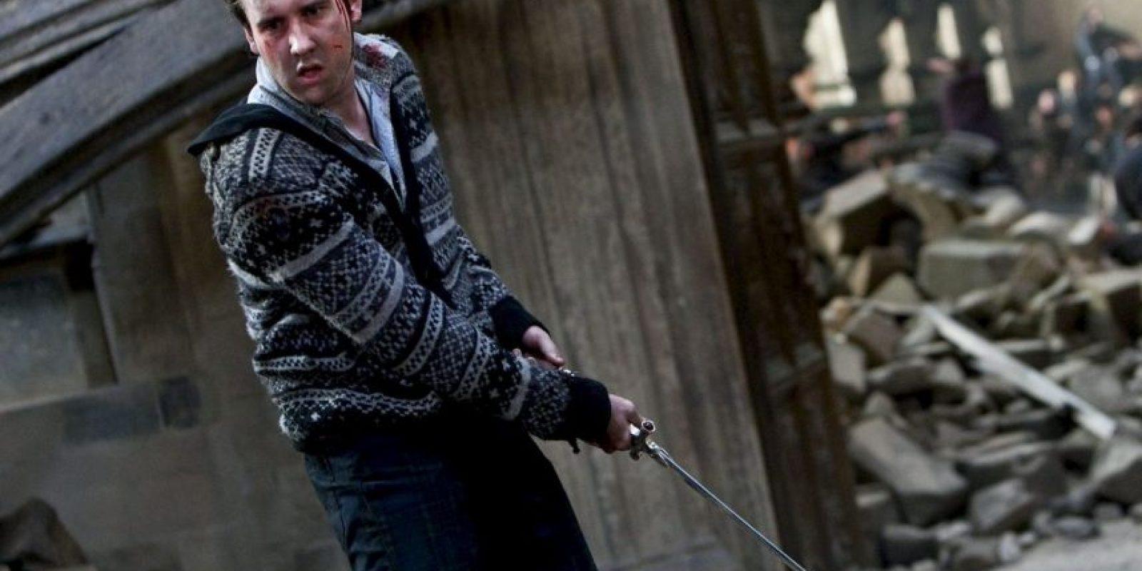 """""""Neville Longbottom"""" se convirtió en el profesor de herbología de """"Hogwarts"""" Foto:Vía Facebook.com/harrypottermovie"""
