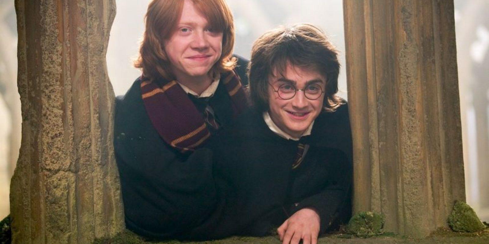 """""""Harry"""" y """"Ron"""" entraron al Departamento de Aurores en el Ministerio de Magia. Foto:Vía Facebook.com/harrypottermovie"""