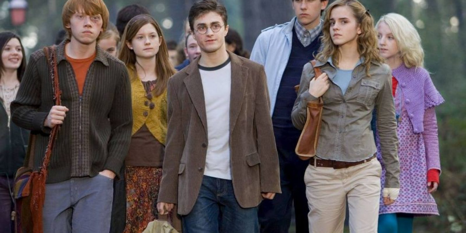 """Los rostros de """"Harry"""", """"Ron"""" y """"Hermione"""" aparecen en las tarjetas de las ranas de chocolate. Foto:Vía Facebook.com/harrypottermovie"""