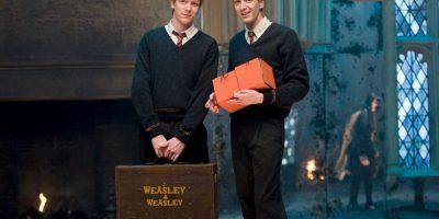"""""""George Weasley"""" se casó con """"Angelina Johnson"""", y tuvieron dos hijos """"Fred"""" y """"Roxanne"""". Foto:Vía Facebook.com/harrypottermovie"""