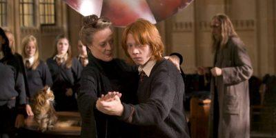"""""""Minerva McGonagall"""" se convirtió en la directora de """"Hogwarts"""". Foto:Vía Facebook.com/harrypottermovie"""