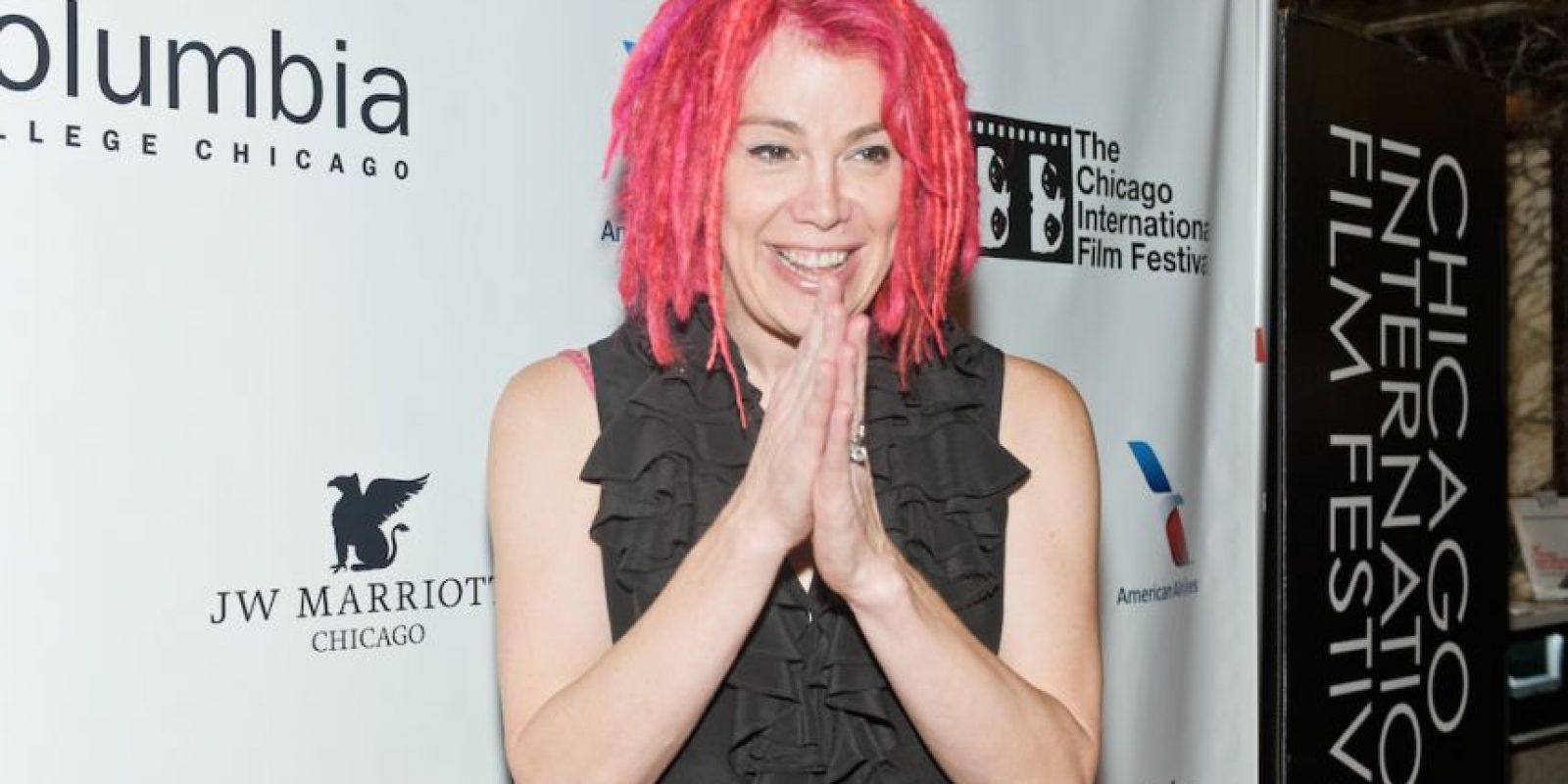 """Una de las primeras transexuales directoras de cine y, junto a su hermano Andy, creadora de la saga """"Matrix"""". Foto:Getty Images"""