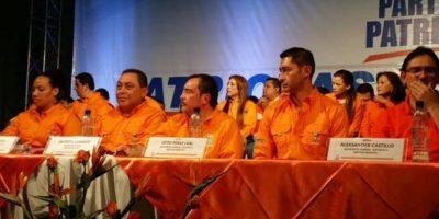 Se realiza asamblea en el Partido Patriota a una semana de escándalo