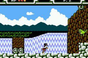 DuckTales 2 de 1993. Rico Mac Pato llegó a Nintendo con este diver título juego de aventuras Foto:Nintendo