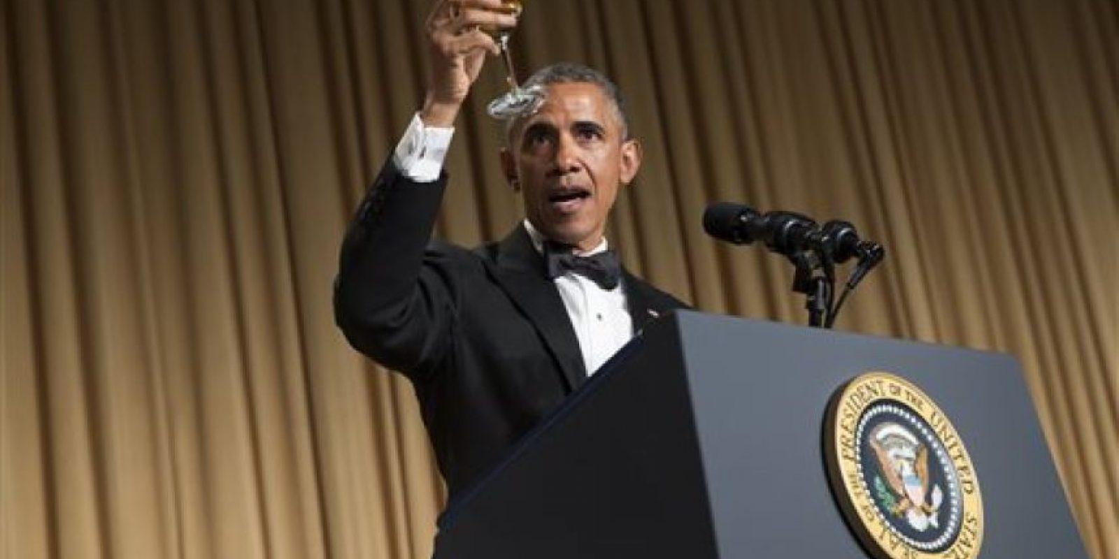 """""""Estoy tan viejo que (el líder republicano del Congreso, John) Boehner ya ha invitado a Netanyahu a hablar en mi funeral"""". Esto, en referencia a la invitación al Congreso (que le hicieron sin que se le consultara) por parte del premier israelí para clamar contra la negociación con Irán. Foto:vía AP"""