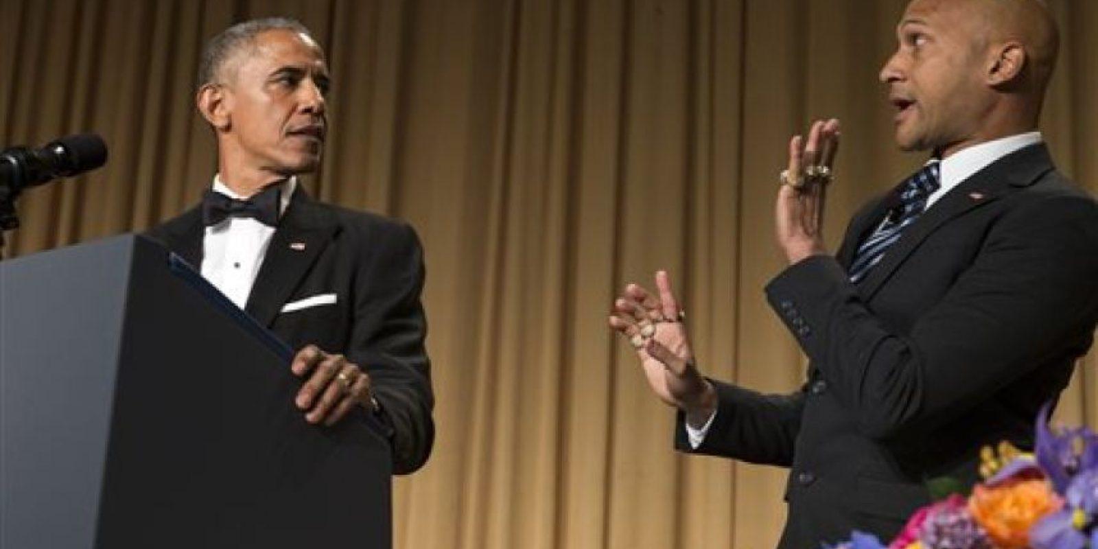 También se burló de los fallos del Servicio Secreto por protegerle. Foto:vía AP