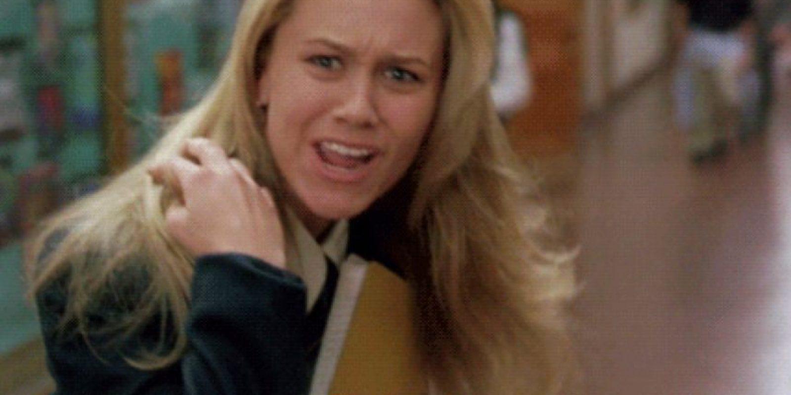"""Christine Taylor era """"Laura Lizzie"""", la joven rica y racista que atormentaba a """"Rochelle"""". Foto:vía Columbia Pictures"""