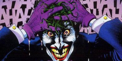 "Aquí, en la portada de este cómic, que se llamó ""The Killing Joke"". Foto:vía DC Cómics."