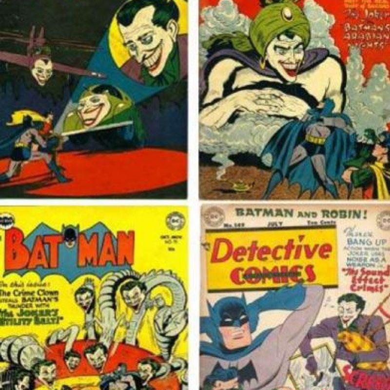 Así se veía en el cómic original. Foto:vía DC Cómics.