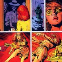 """En 1988, el """"Joker"""" protagoniza un polémico episodio. Apuñala a Bárbara, amarra al capitán Gordon, su padre… Foto:vía DC Cómics."""