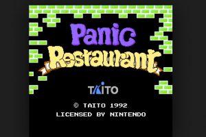 Panic Restaurant de 1992. Un juego bastante bizarro de un cocinero que lucha contra la comida Foto:Nintendo