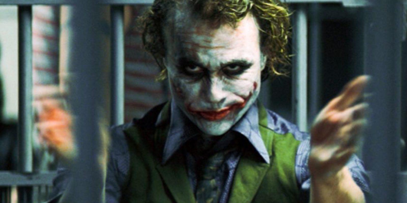 Tenía su pelo pintado, para parecerse al personaje. Foto:vía Warner Bros