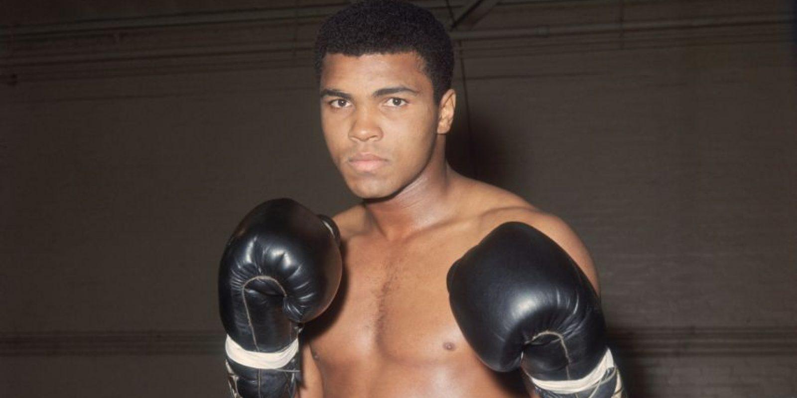 Pacquiao: Muhammad Ali, ex boxeador estadounidense. Foto:Getty Images