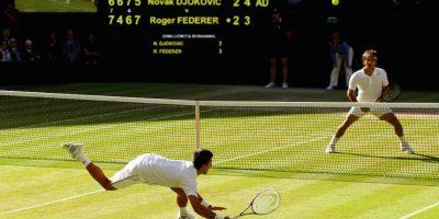 """""""La catedral del tenis"""" no los quiere por considerarlos molestos para los aficionados. Foto:Getty Images"""