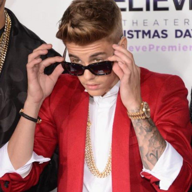 En cantante estaba en su estudio de grabación cuando se percató de la fiesta. Foto:Getty Images