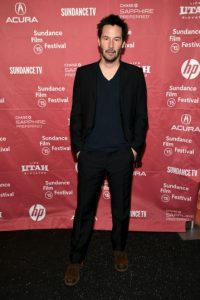 Pacquiao: Keanu Reeves, actor canadiense. Foto:Getty Images