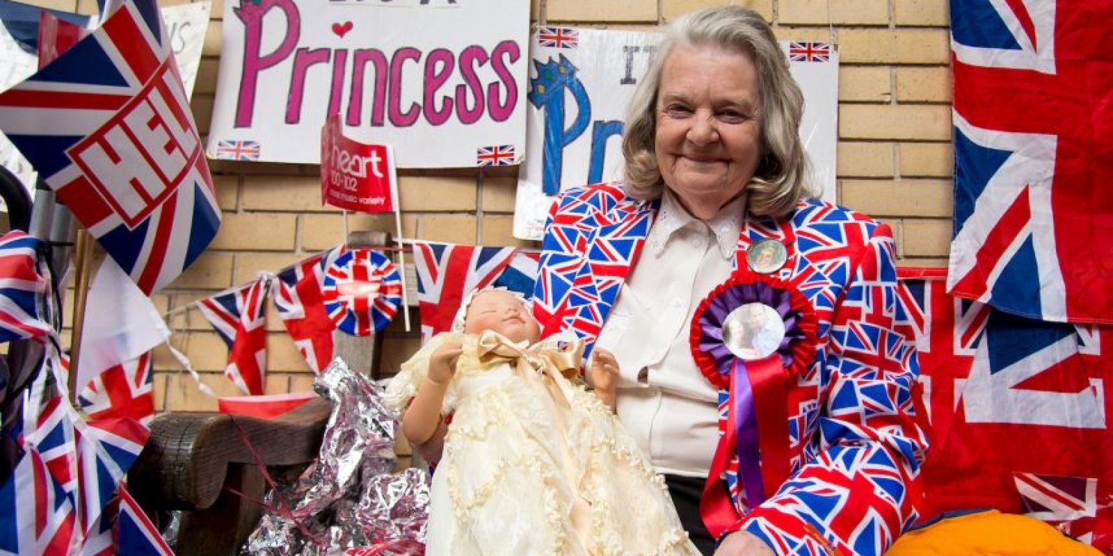 Así los ingleses se preparan para la llegada del segundo bebé de los duques de Cambridge. Foto:Getty Images