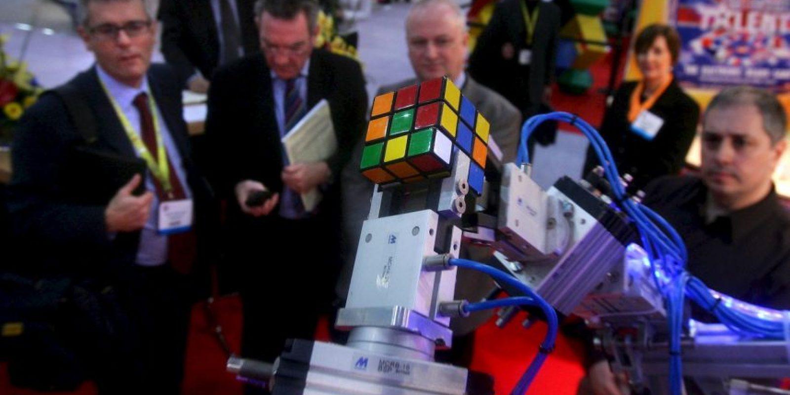 """El amor por el cubo de Rubik hizo que se creara un movimiento artístico llamado """"rubikcubismo"""" Foto:Getty Images"""