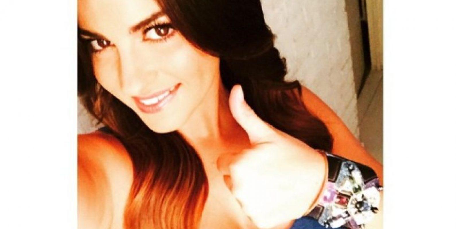 Al parecer, la cantante se tomó un descanso durante el fin de semana y lo compartió con su novio, el cantante chileno Koko Stambuk. Foto:Vía Instagram.com/maitepb