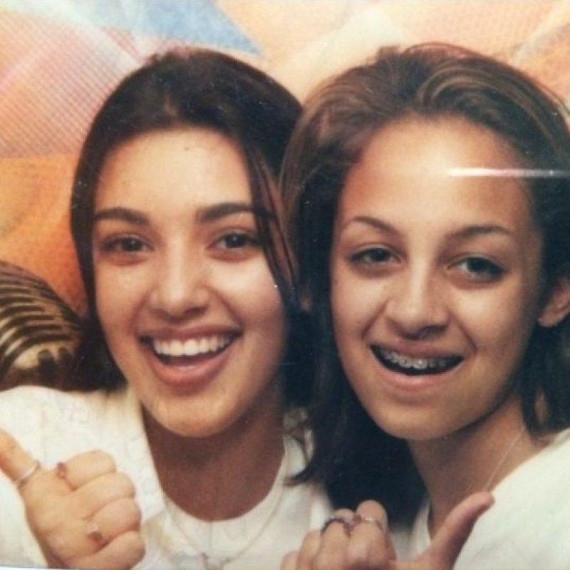 (a la izquierda) Foto:Vía instagram.com/kimkardashian