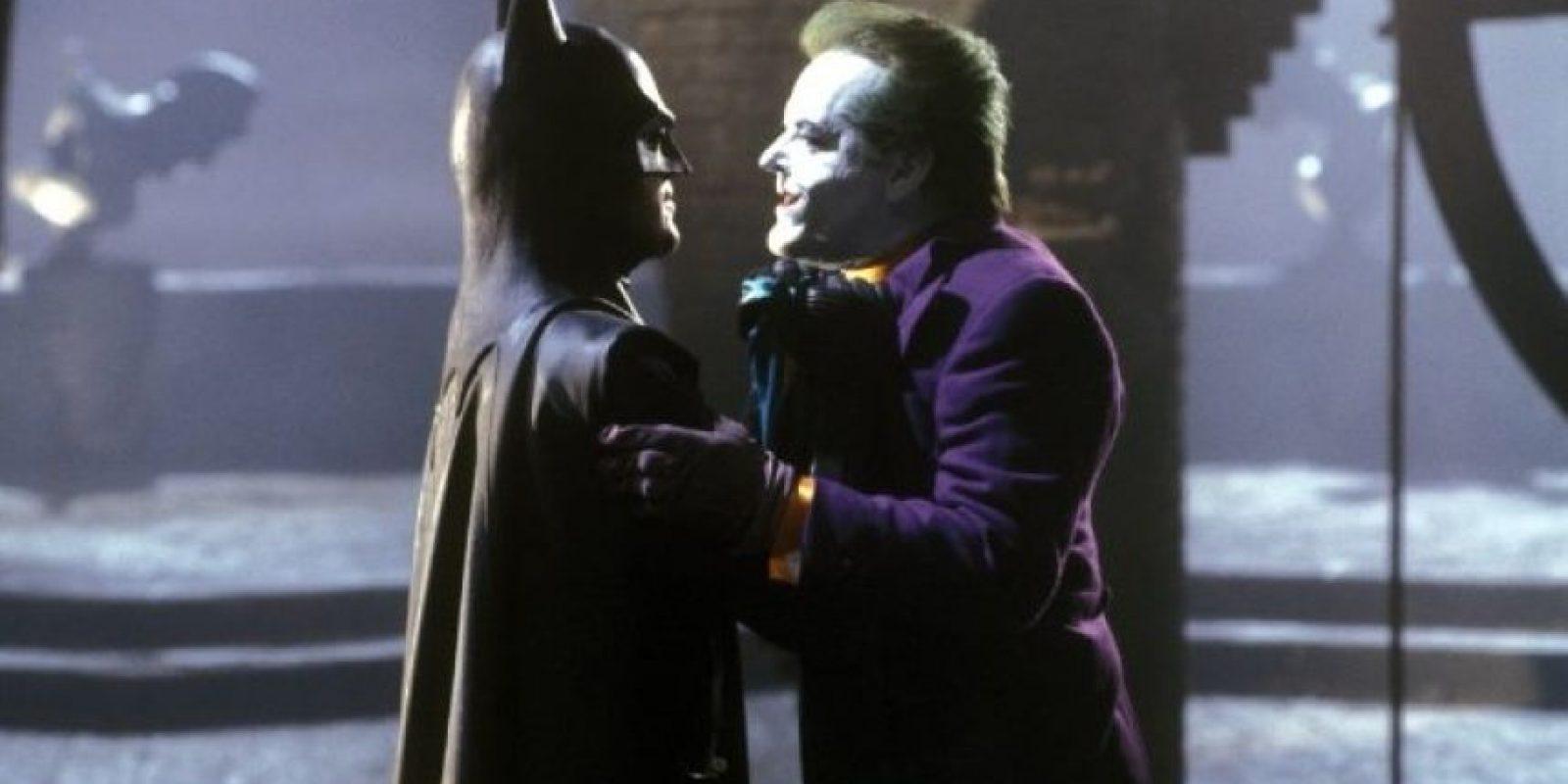 "Jack Nicholson le dio vida a ""The Joker"" en 1989 Foto:IMDb"