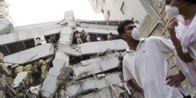 6. 8 de octubre de 2005, Pakistán: Las zonas más devastadas fueron Muzaffarabad, Cachemira y Uri. Foto:Getty Images