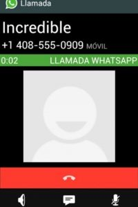 """Activar Llamadas Whatsapp"" Foto:Google Play"