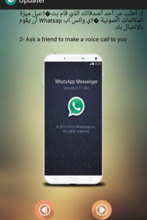 Asegura que siguiendo los pasos obtendrán las llamadas para WhatsApp. Foto:Google Play