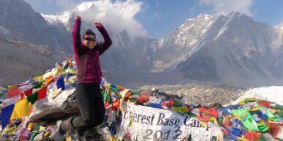 La alpinista Bárbara Padilla envía un mensaje a sus seguidores
